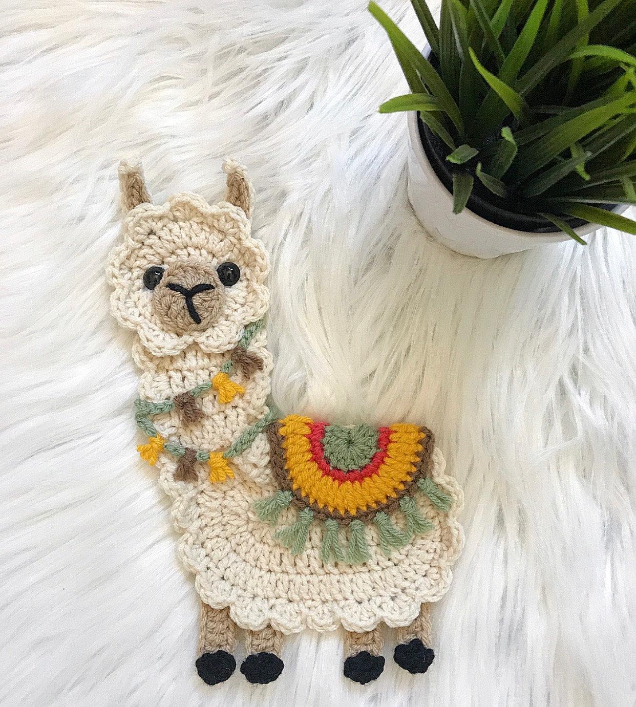 Crochet Pattern INSTANT PDF DOWNLOAD Boho Llama Llama | Etsy