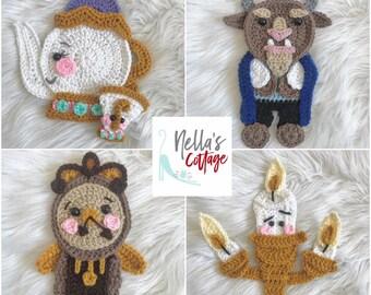 Crochet Pattern - INSTANT PDF DOWNLOAD - Nellas Cottage - Fairytale - Enchanted Fairytale - Crochet Patterns - Crochet - Patterns