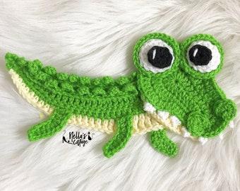 Crochet Pattern - INSTANT DOWNLOAD - Crochet Alligator - Nellas Cottage - Crochet - Alligator - Reptile - Crocodile - Crochet Reptile