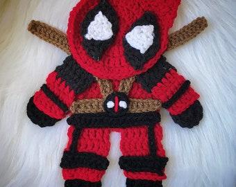 Crochet Pattern - INSTANT PDF DOWNLOAD - Superhero Pattern - Crochet Superhero - Nellas Cottage Patterns - Nellas Cottage - Superheros