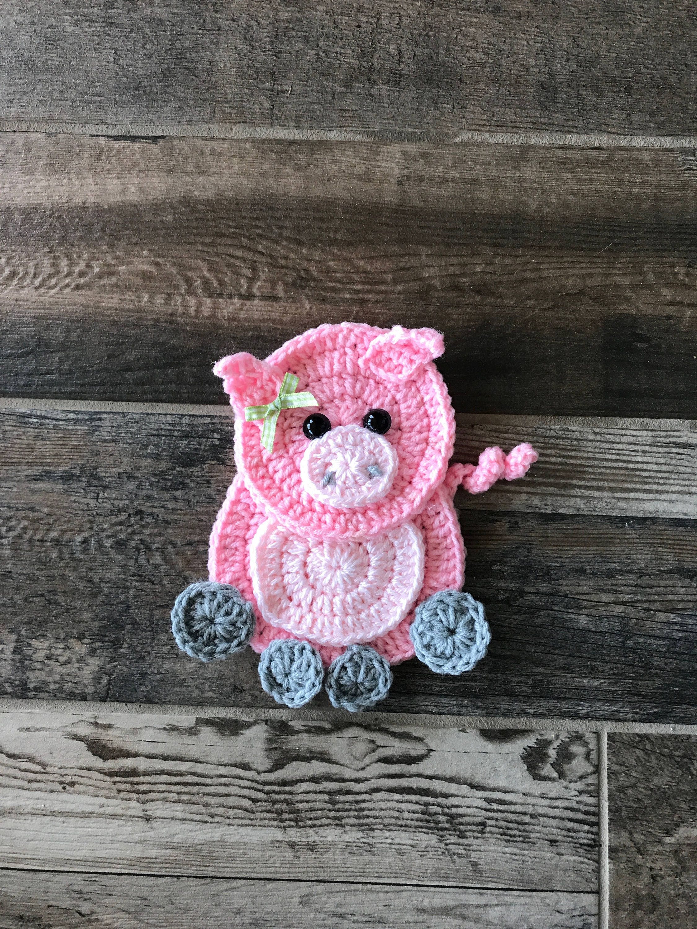 Crochet Pattern - Farm Animal Patterns - INSTANT PDF DOWNLOAD ...