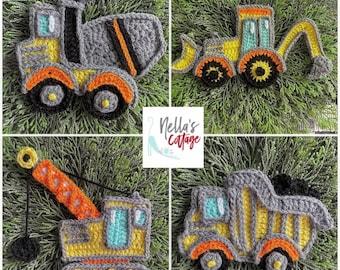Crochet Pattern - INSTANT PDF DOWNLOAD - Crochet Applique Patterns - Appliques - Patterns - Crochet Patterns