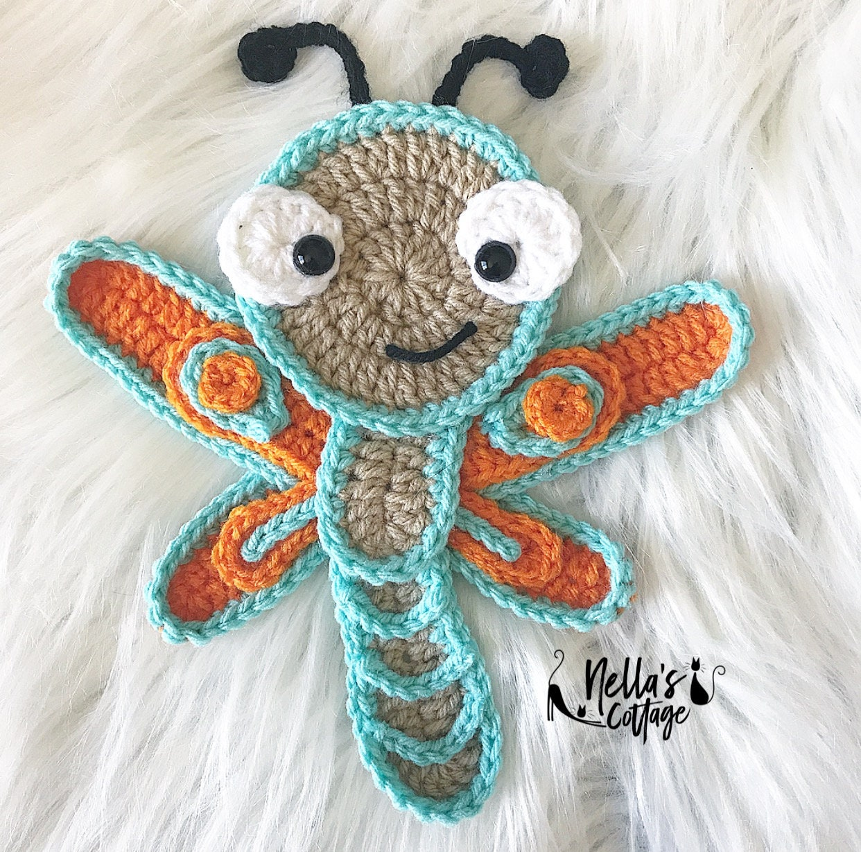 Dragonfly Crochet Pattern Amazing Decorating Design