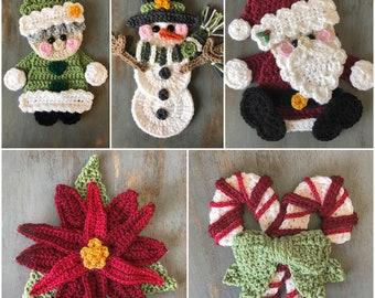 Crochet Pattern - INSTANT PDF DOWLOAD - Christmas Patterns - Crochet Patterns - Christmas - Christmas Crochet Patterns - Patterns - Holidays
