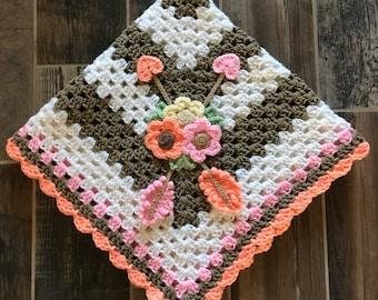 Crochet Baby Blanket - Baby Blanket - Handmade Baby Blanket - Crochet Baby Blanket - Boho Baby Blanket - Boho Beauty Blanket