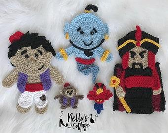 Crochet Pattern - INSTANT PDF DOWNLOAD - Crochet Patterns - Genie In A Bottle - Crochet - Nellas Cottage