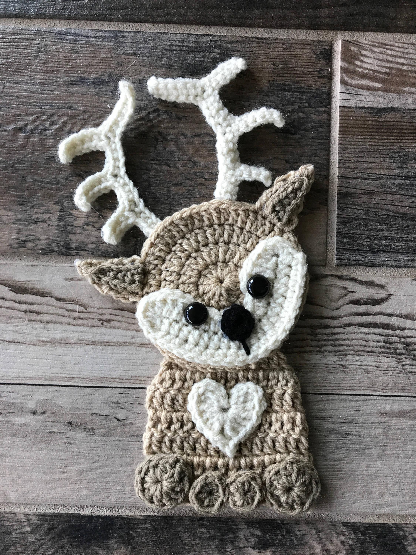 Crochet Pattern Instant Pdf Download Crochet Applique Etsy