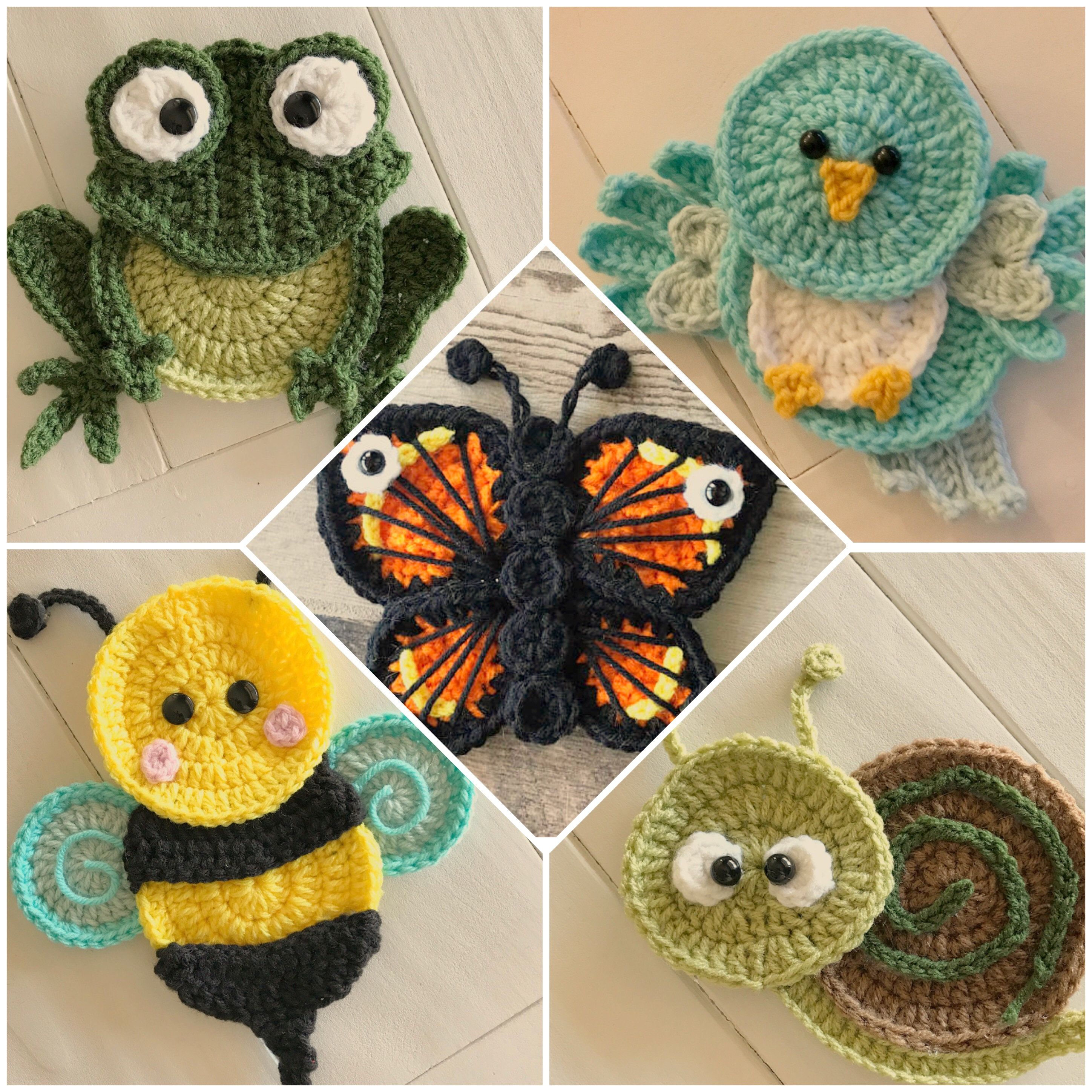 PDf pattern instant download Bumblebees
