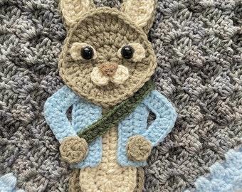 Crochet Pattern - INSTANT DOWNLOAD - Nellas Cottage - Mr Rabbit - Crochet - Crochet Rabbit - Crochet Bunny - Rabbits - Baby Blankets