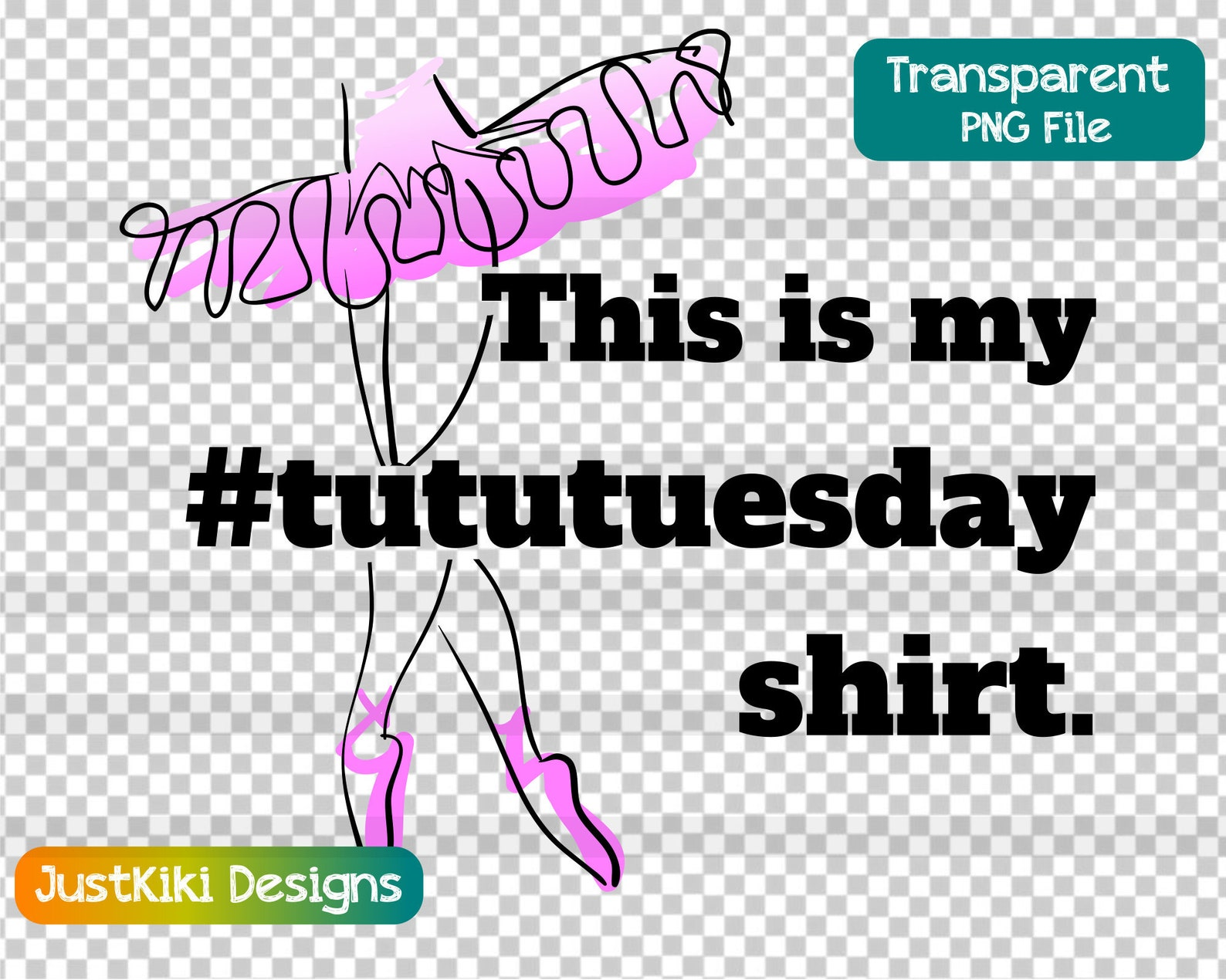 tutu tuesday clipart - ballet, ballerina svg - dance teacher recital appreciation gift idea - #tututuesday
