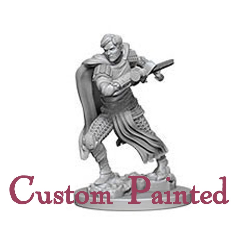 Custom Painting Service for an Aasimar 28mm WizKids Miniature Dungeons and  Dragons Miniature