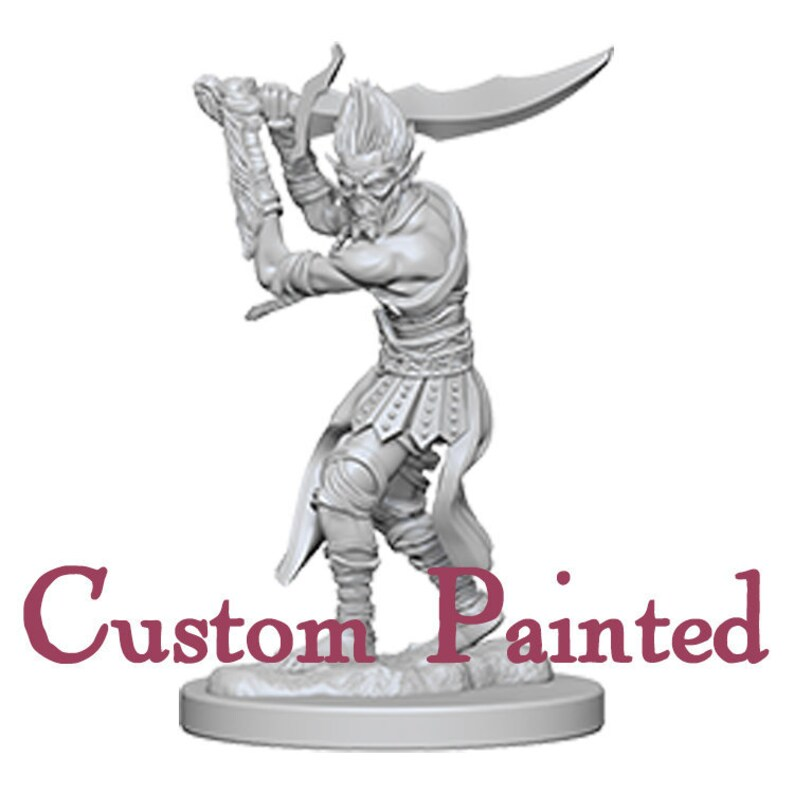 Custom Painting Service for a Githyanki 28mm WizKids Miniature Dungeons and  Dragons Miniature
