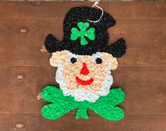 Patrick/'s Day Hat Wall Hanging Irish Greeting ~ St Crochet Collector/'s pattern