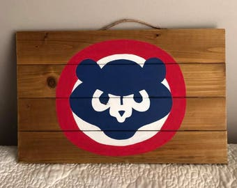 Chicago Cubs Pallet Sign
