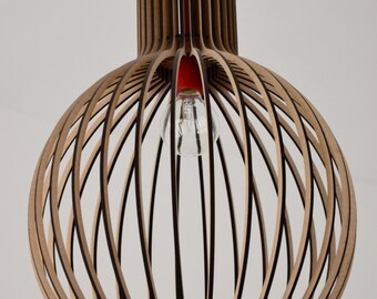 Suspended wooden