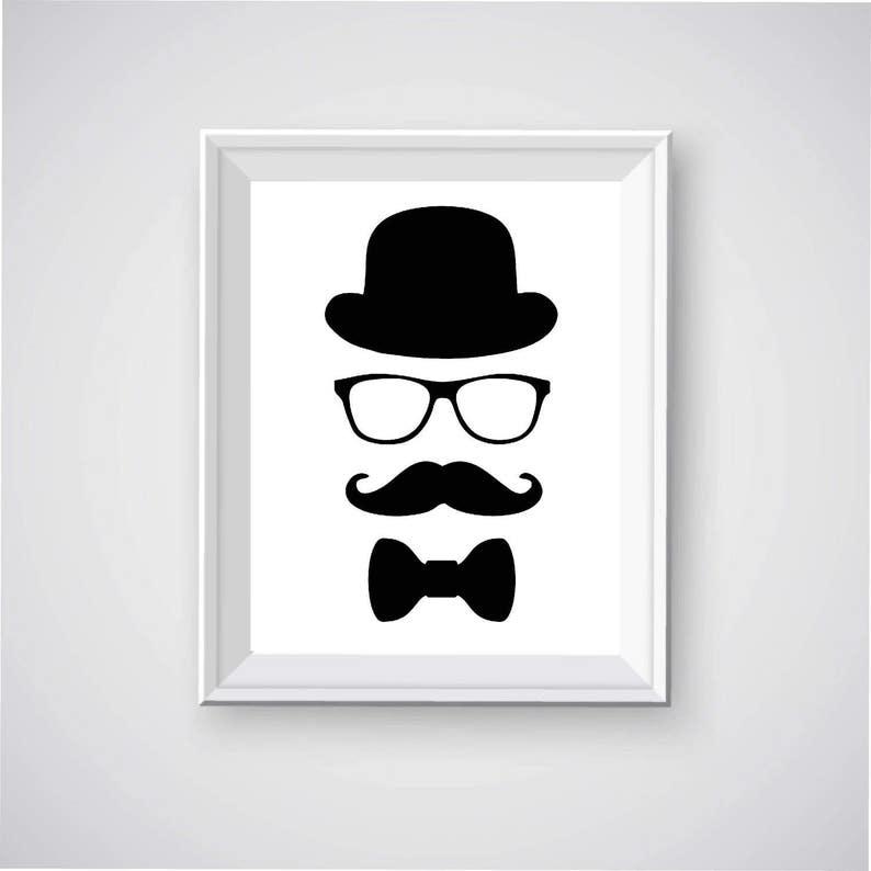 photograph regarding Mustache Printable titled Bowler Hat Printable, Mustache Printable, Gentleman within Bowler Hat, Bowler Hat and Gles, Mustache Printable, Bow Tie Printable, Person Printable