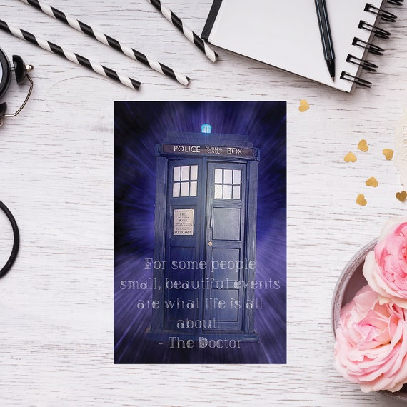 Dr Who Birthday Card Dr Who Baby Card Dr Who Anniversary Etsy