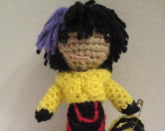 GoGo Tomago crochet doll Big Hero 6