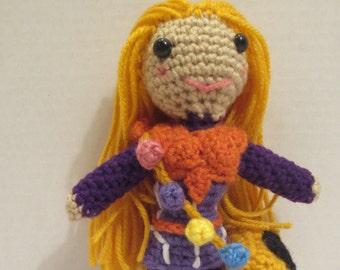 Honey Lemon crochet doll Big Hero 6