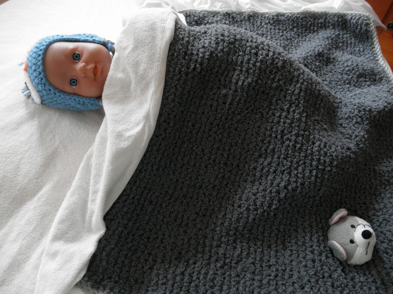 couverture b b ultradouce en laine fausse fourrure etsy. Black Bedroom Furniture Sets. Home Design Ideas