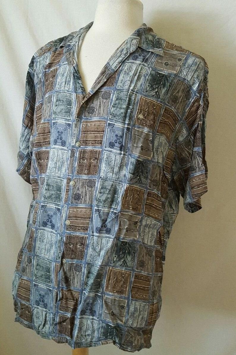 Pierre Cardin Patterned Shirt 80/'s Men/'s Shirt Vintage Pierre Cardin Shirt