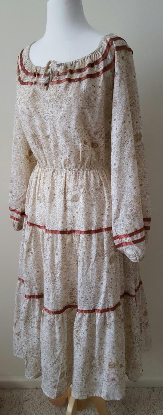 Vintage 70s Hippie Clothing Commune Prairie Granny