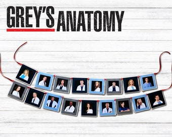 Greys Anatomy Character Banner