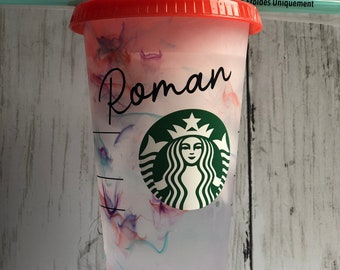 Color changing Starbucks cup