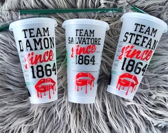 Vampire Diaries Starbucks Cups