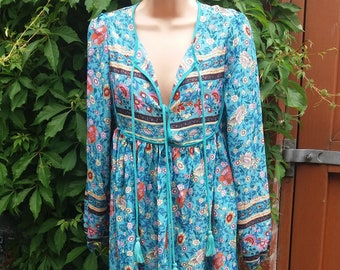 vintage look hippie dress