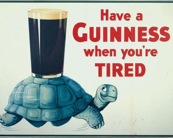 Guinness, beer poster, vintage poster, printable poster, digital download, digital poster, Guinness poster, old poster, beer ad, vintage ad