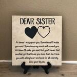 Gift for Sister, Birthday Gift for Sister, Christmas Gift for Her, Sister Gift, Unique Gift for Sister,  Sister Birthday Gift, Gift Idea