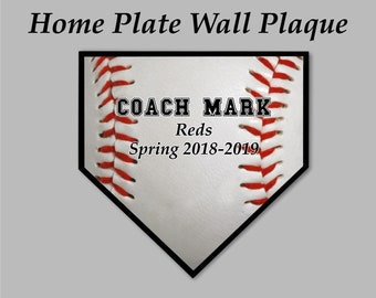 ae03df94 Baseball Coach Gift, Baseball Gifts, Baseball Plate, Baseball Plaque, Wall  Plaque, Team Gift, Award Plaque, Award Gift, Custom Plaque