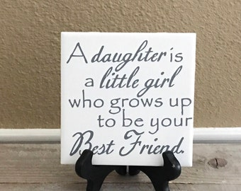 Personalized Baby Shower Gift, Gift for My Daughter, Daughter from Mom, Nursery Decor, New Baby Gift, Wedding Gift ideas, Birthday Gift,