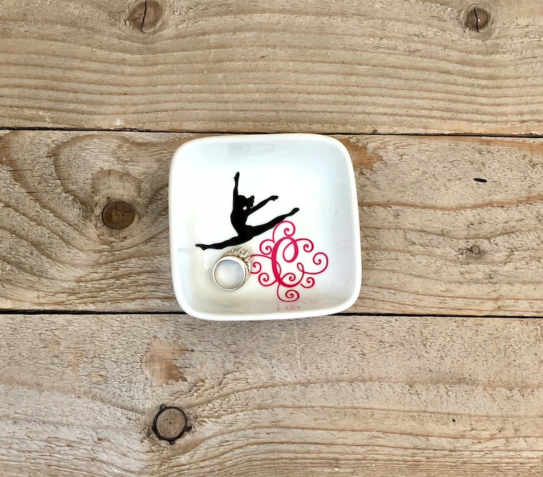 Monogrammed Jewelry Dish Ring Dish Personalized Ring Dish ...