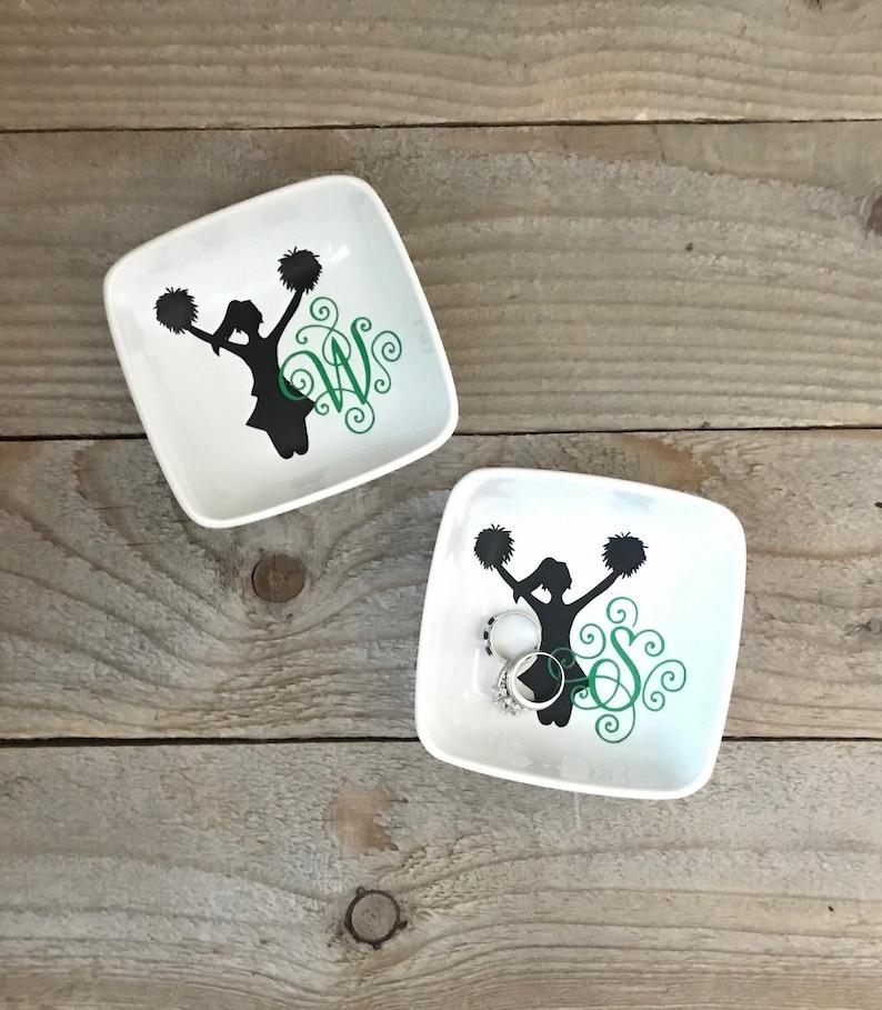 Jewelry Dish cheerleader cheer gifts birthday gifts image 0