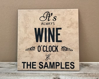 Kitchen Sign, Kitchen Decor, Kitchen Art, New Home Gift, New Home Sign, Hostess Gifts, Host Gifts, Wine Lover Gifts for Women, Wine Gifts