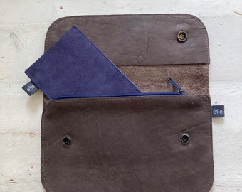 Travel wallet with also a zipper box