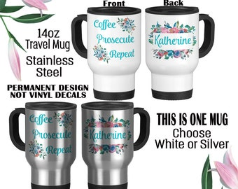 Please Do Not Confuse Your Google Search With My Law Degree Stainless steel travel auto mug 14oz Funny Lawyer Mug Attorney Gift Lawyer Gift