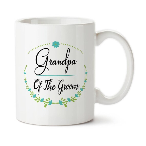 Grandpa Of The Groom Wedding Party Gift Wedding Gift