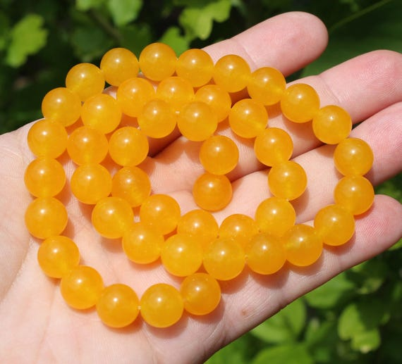"""New 4-12mm Yellow South America Topaz Gems Loose Beads 15/"""""""