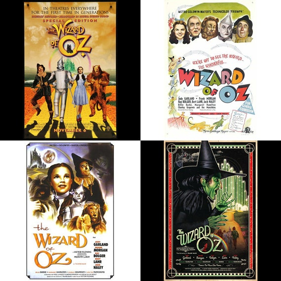 Wizard of Oz Movie Poster...