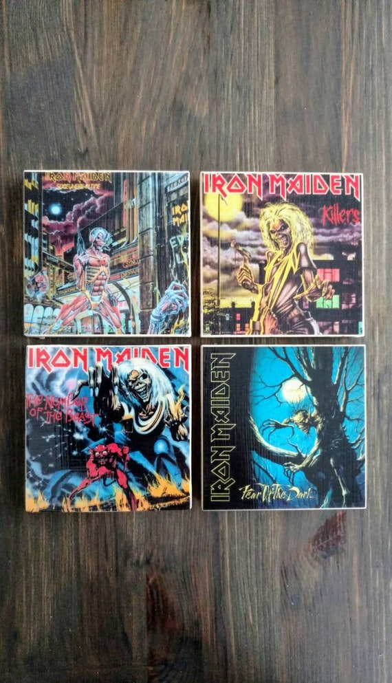 Iron Maiden Album Cover S...