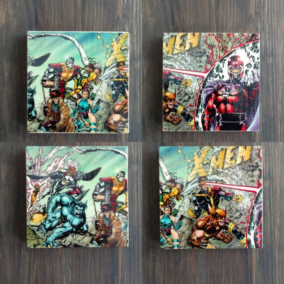 X-Men Stone Coasters, Set...