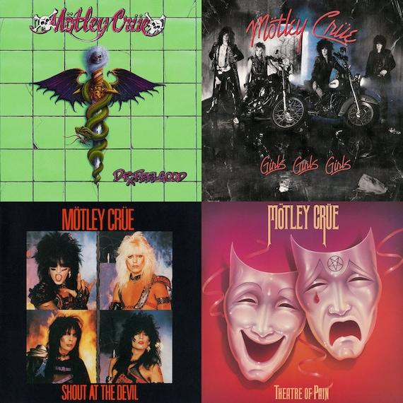 Motley Crue Album Cover S...