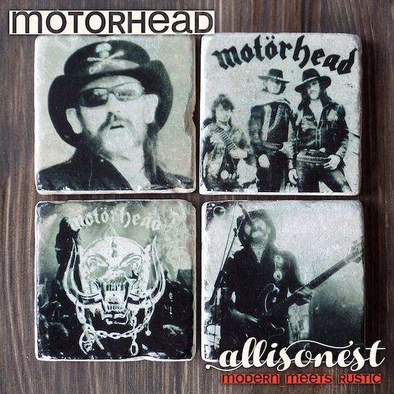 Motorhead Stone Coasters,...