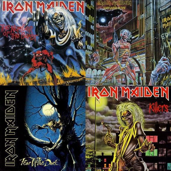 Iron Maiden Album Cover S...