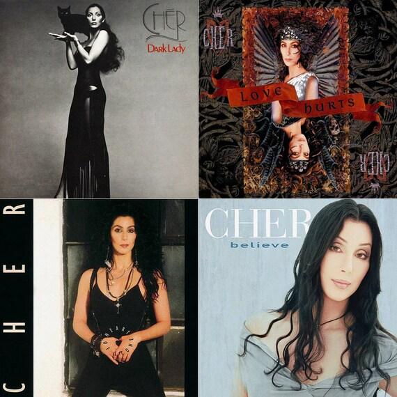 Cher Album Cover Stone Co...