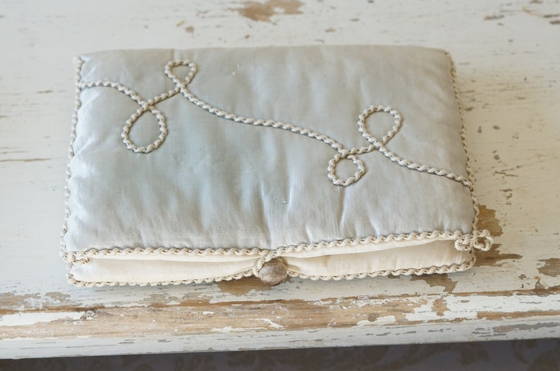 Silk Lingerie Bag Beautiful Vintage