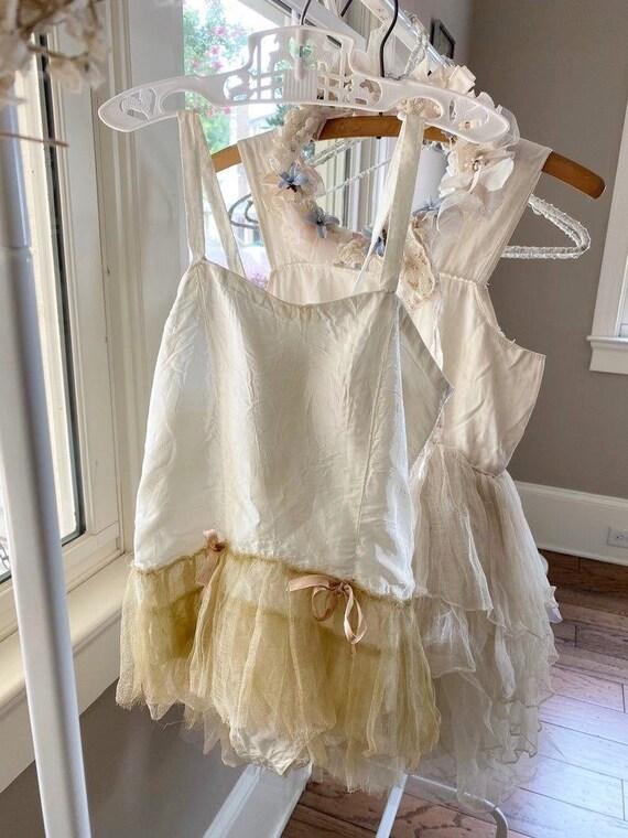 Vintage Tutu Ballet Gauze Tulle Costume Skirt Shab